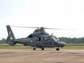 Aplinkosaugos kontrolę padės užtikrinti sraigtasparnis
